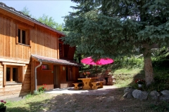 Terrace of the chalet