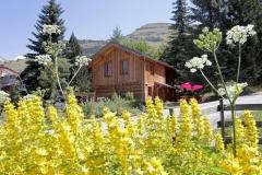 Chalet Le Poucet in summer - Les 2 Alpes